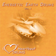 Trommel-CD: Energetic Earth Drums Vol. 1